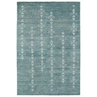 Kaleen Solitaire Cave Art 8-Foot x 11-Foot Area Rug in Ice