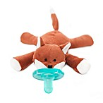 WubbaNub™ Fox Infant Pacifier in Brown