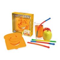 Fred and Friends® Cheesy Grin™ Sandwich Cutter And Slinky Drinks™ Worm Straw Set