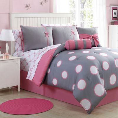 set home sets fullqueen shop the amazing bone collector comforter gray elizabeth grey pertaining most incredible to size piece pink and brilliant ordinary