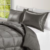 PUFF Down Alternative Ultra Light Indoor/Outdoor Twin Comforter in Taupe