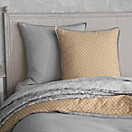 Seville Ottoman Rib European Pillow Sham in Grey