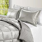PUFF Down Alternative Ultra Light Indoor/Outdoor King Comforter in Silver