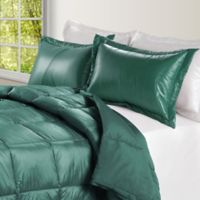 PUFF Down Alternative Ultra Light Indoor/Outdoor King Comforter in Peacock