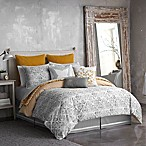 Seville Tiled Reversible King Comforter Set in Grey
