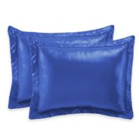 PUFF Ultra Light King Indoor/Outdoor Pillow Shams in Electric Blue (Set of 2)