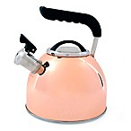 Prime Gourmet Copper Plated Stainless Steel 2.5 qt. Tea Kettle
