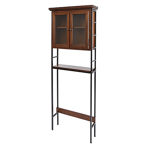 Buy Silverwood Leighton Space Saver Bathroom Cabinet In Dark Wood From Bed Bath Beyond