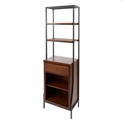 Silverwood Leighton Linen Cabinet in Dark Wood - Buy Bathroom Towel Cabinets From Bed Bath & Beyond