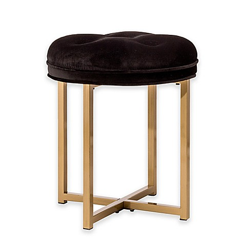 Hillsdale Maura Tufted Vanity Stool Bed Bath Amp Beyond
