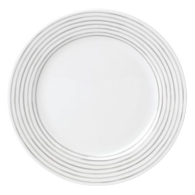 kate spade new york Charlotte Street East Dinner Plate in Grey  sc 1 st  Bed Bath u0026 Beyond & Buy White Porcelain Dinner Plates from Bed Bath u0026 Beyond