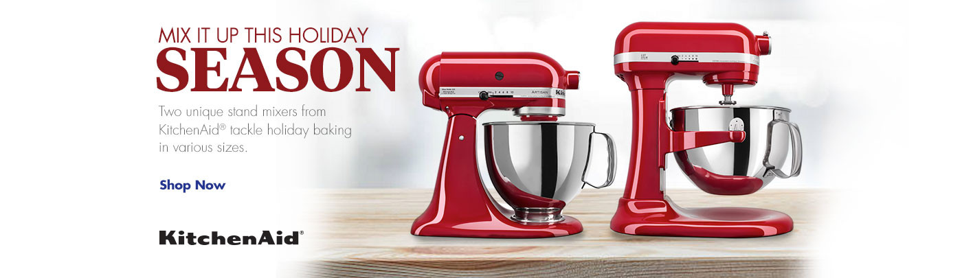 Mix it up this Holiday Season - Shop KitchenAid