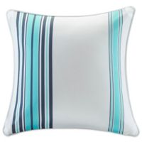 Madison Park Newport 20-Inch Square Throw Pillow in Blue