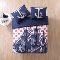 Seedling by ThomasPaul® Nautical Full/Queen Comforter Set in Navy