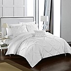Chic Home Weber King Duvet Cover Set in White