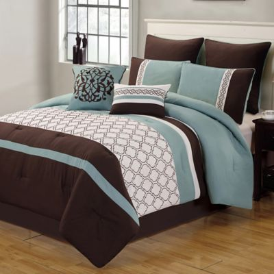 Buy Ivory And Brown Comforter Set From Bed Bath Beyond