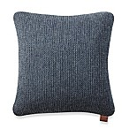UGG® Pebble Knit Square Throw Pillow in Navy