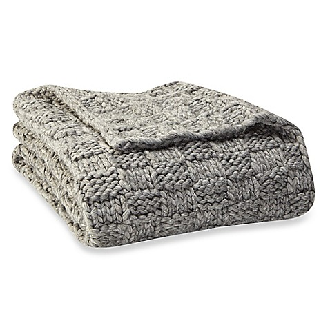 X Chunky Knit Blanket Bed Bath And Beyond