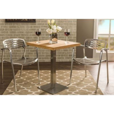 Baxton Studio Owen Bistro Table In Brown