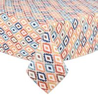 Mesa Diamond 60-Inch x 84-Inch Indoor/Outdoor Oval Tablecloth