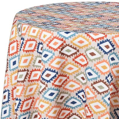 Mesa Diamond 60 Inch Indoor/Outdoor Round Tablecloth