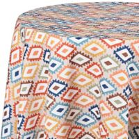 Mesa Diamond 60-Inch Indoor/Outdoor Round Tablecloth