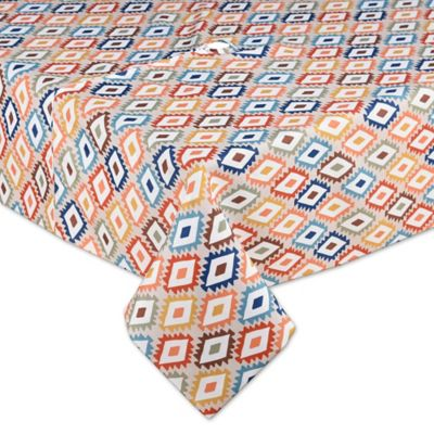 Mesa Diamond 60 Inch X 84 Indoor Outdoor Umbrella Tablecloth