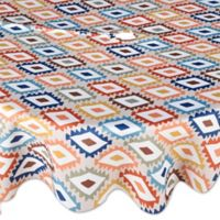 Mesa Diamond 70-Inch Round Indoor/Outdoor Umbrella Tablecloth