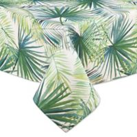 Shades of Palm 60-Inch by 84-Inch Oblong Tablecloth