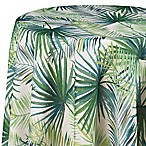 Shades of Palm 70-Inch Round Tablecloth