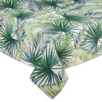 Shades of Palm 60-inch by 84-Inch Umbrella Tablecloth