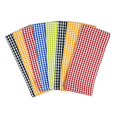 Cotton Kitchen BBQ Towels 8-Pack