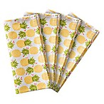 Summer Napkin in Pineapple Pattern (Set of 4)