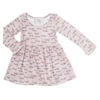 Pickles N' Roses™ Size 6-12M Sleepy Eye Long Sleeve Knit Day Dress
