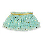 Baby Starters® Size 3M Dot Print Tutu Skirt in Mint/Gold