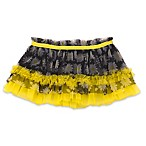 Baby Starters® Size 6M Daisy Tutu Skirt in Black/Yellow