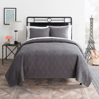 Buy Gray Quilts from Bed Bath & Beyond : bed and bath quilts - Adamdwight.com