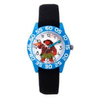 Disney® Moana Children's Maui Time Teacher Watch in Blue Plastic with Black Nylon Strap
