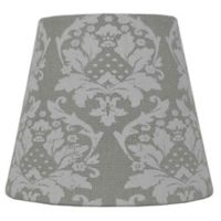 Mix & Match Small Damask Lamp Shade in Green