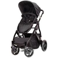 MUV REIS 4-Wheel Stroller in Satin Black/Black