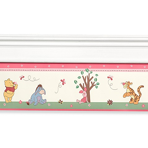 disney 39 s winnie the pooh delightful day wall border buybuy baby. Black Bedroom Furniture Sets. Home Design Ideas