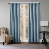 Princeton 108-Inch Rod Pocket/Back Tab Window Curtain Panel in Spa