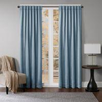 Princeton 108-Inch Rod Pocket/Back Tab Window Curtain Panel in Spa
