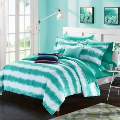 buy turquoise comforter from bed bath & beyond