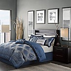 Madison Park Quinn 7-Piece Queen Comforter Set in Navy