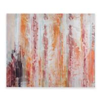 Urban Habitat® Passion Gel Coat Canvas Wall Art in Coral