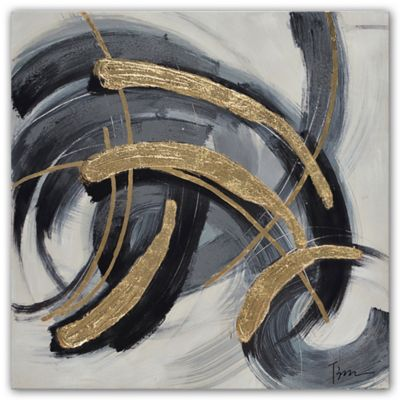 Black And Gold Wall Art buy gold black wall art from bed bath & beyond