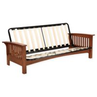 Simmons® Denver Express Futon Frame in Vintage Oak