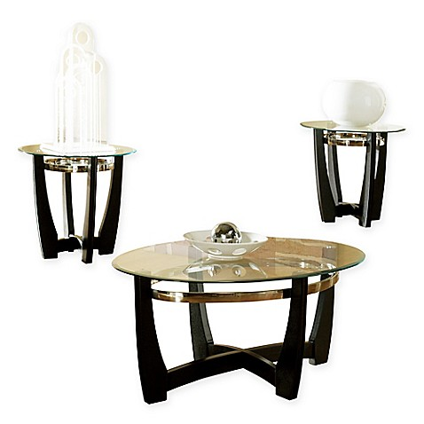 Steve Silver Co. Matinee 3-Piece Coffee and End Table Set  sc 1 st  Bed Bath u0026 Beyond & Steve Silver Co. Matinee 3-Piece Coffee and End Table Set - Bed Bath ...