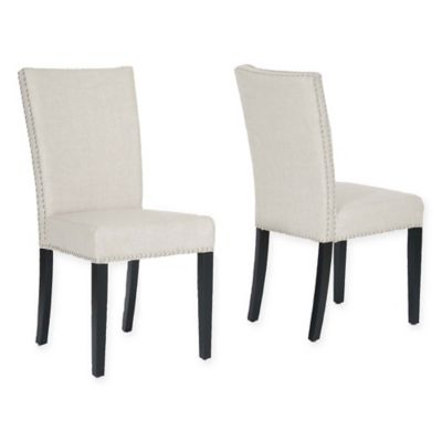 baxton studio harrowgate dining room chairs in beige set of 2 - Where Can I Buy Dining Room Chairs